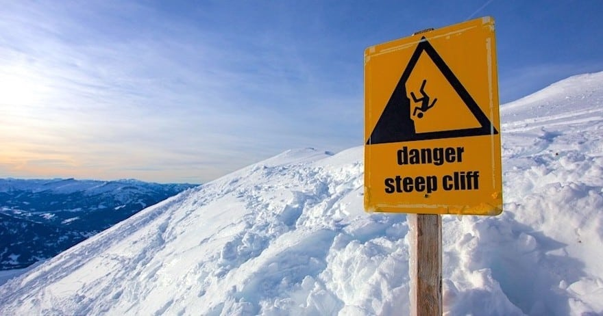 Email marketing mistakes - stop throwing your clients off mountain tops