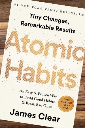 Productivity book recommendation - Atomic Habits by James Clear