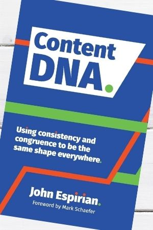 Small business marketing book recommendation - Content DNA by John Espirian