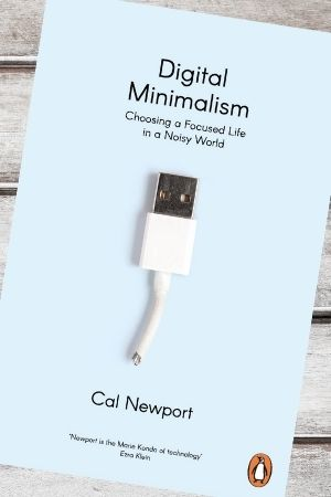 Productivity book recommendation - Digital Minimalism by Cal Newport
